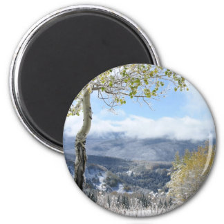 A Winter View Magnet