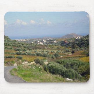 A Winter Walk on Crete Mousepad