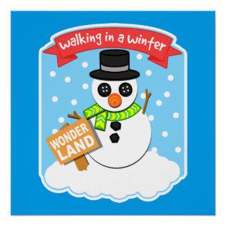 A Winter Wonderland II Perfect Poster