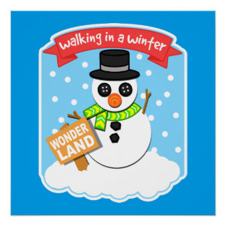 A Winter Wonderland II Poster