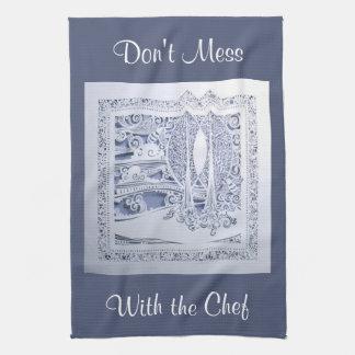 A Winter's Snow Kitchen Towel