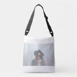 A Wintery Scene Cross-Shoulder Bag