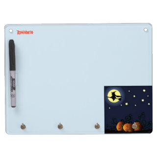 A Witch Amongst the Stars Dry Erase Board With Keychain Holder