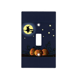 A Witch Amongst the Stars Light Switch Cover