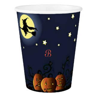 A Witch Amongst the Stars Paper Cup