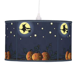 A Witch Amongst the Stars Pendant Lamp