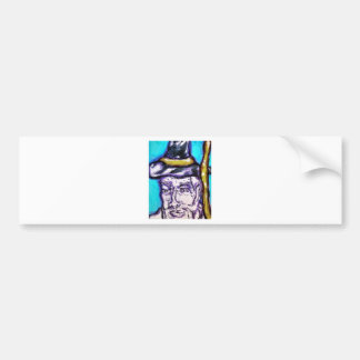 A Wizarding Sort Bumper Sticker