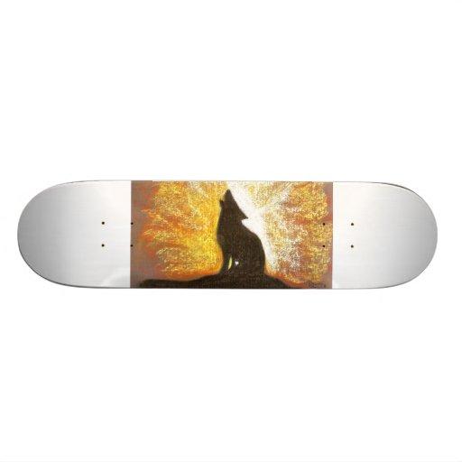 a wolfs forgotton song skate decks