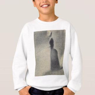 A Woman Fishing (conte crayon) Sweatshirt