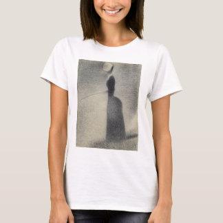 A Woman Fishing (conte crayon) T-Shirt
