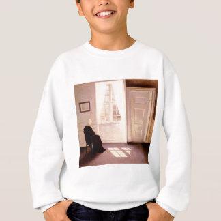 A Woman Reading By A Window Sweatshirt