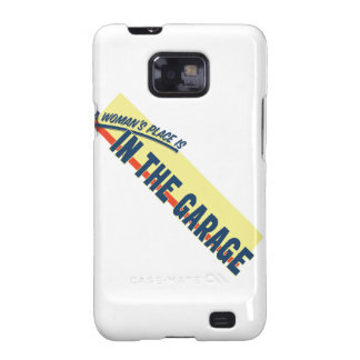 A Woman s Place Is In The Garage Galaxy SII Cover