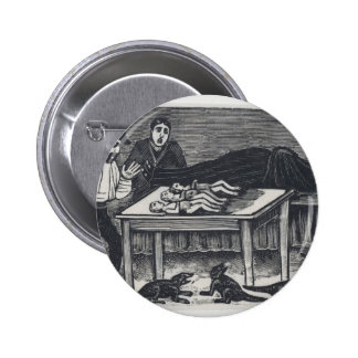 A woman who gave birth 2 inch round button