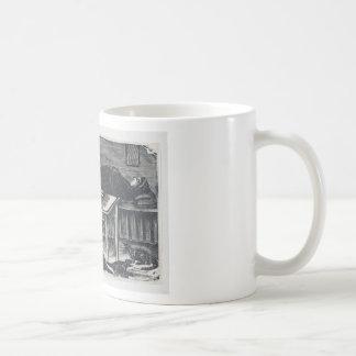 A woman who gave birth coffee mug