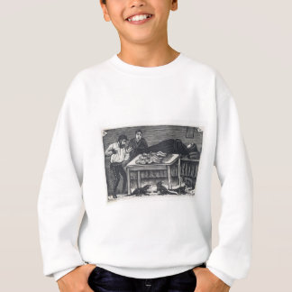 A woman who gave birth sweatshirt