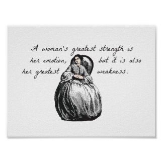 A woman's greatest strength... poster