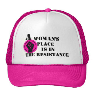 A WOMAN'S PLACE HAT