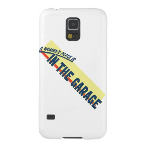 A Woman's Place Is In The Garage Samsung Galaxy Nexus Case