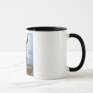 'A Woman's work is NEVER done' mug