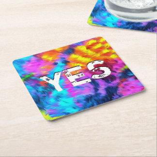 A Wonderful Hope Square Paper Coaster