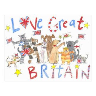 A wonderful patriotic postcard