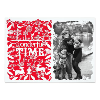 A Wonderful Time of the Year Card