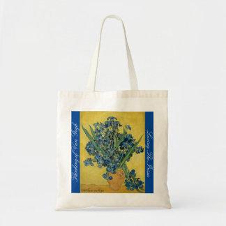 A wonderful tote bag with The Irises motive.