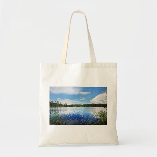 A Wonderful View Of Finland'S Saimaa Lake Tote Bag