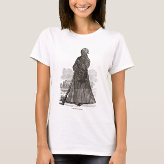 A woodcut image of Harriet Tubman, before 1869 T-Shirt