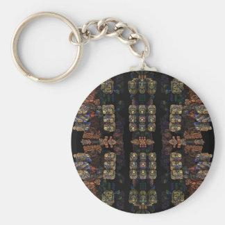 A World Apart Basic Round Button Keychain