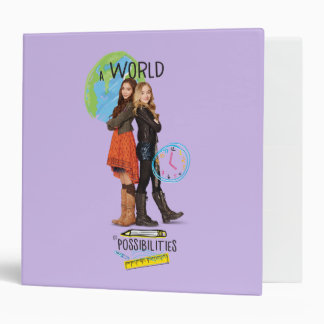 A World of Possibilities Vinyl Binder