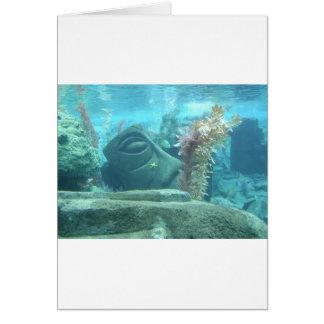 A World Underwater Card