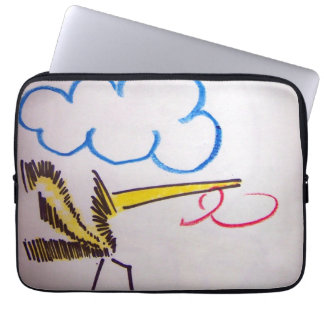 A worm a day laptop sleeve