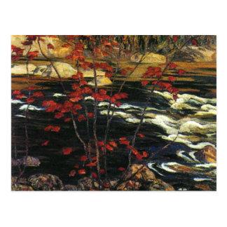 A. Y. Jackson - Red Maple Postcard