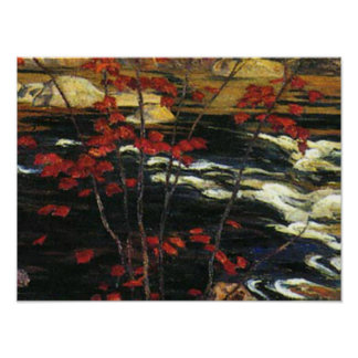 A. Y. Jackson - Red Maple Poster