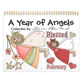 A Year of Angels Calendar