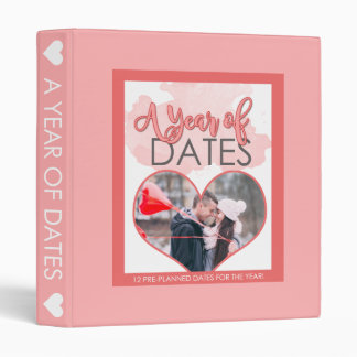 A Year of Dates 3 Ring Binders