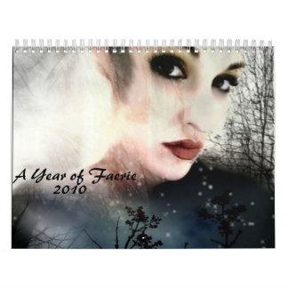 A Year of Faerie, 2010 Calendars