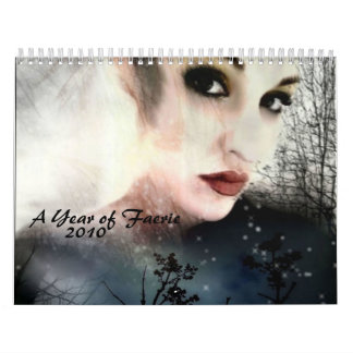 A Year of Faerie, 2010 Wall Calendar