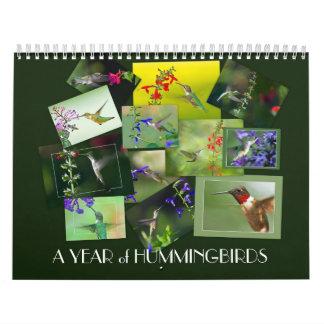 A Year of Hummingbirds Calendar