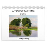 A Year of Painting    2016 calendar