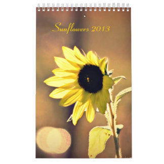 A Year of Sunflowers 2013 Calendar