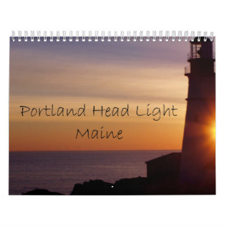 A Year with Portland Head Light Calendars