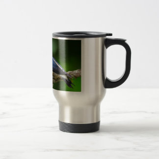 A Yellow Fronted Woodpecker in Brazil Travel Mug