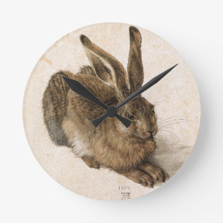 A Young Hare by Albrecht Durer Wall Clocks