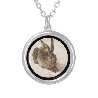 A Young Hare Silver Plated Necklace