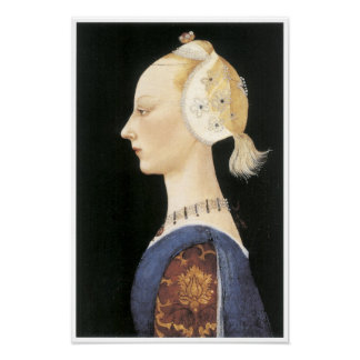 A Young Lady of Fashion, c. 1460-65 Poster