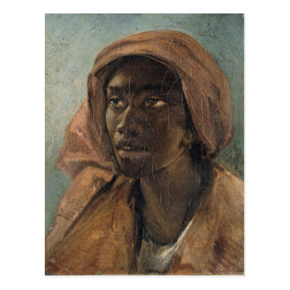 A Young Negro Woman by Gericault Postcard