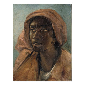 A Young Negro Woman by Theodore Gericault Postcard