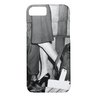 A youngster, clutching his soldier_War Image iPhone 7 Case